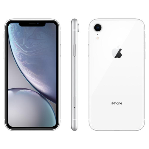 Smartphone Apple iPhone XR 256GB 3GB RAM 12MP Tela 6.1 Branco