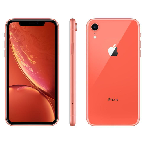 Smartphone Apple iPhone XR 256GB 3GB RAM 12MP Tela 6.1 Coral
